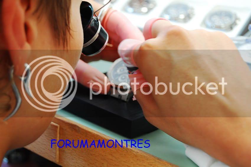 Avant première FAM  : Visite de la nouvelle manufacture Audemars Piguet Poselunette2-1