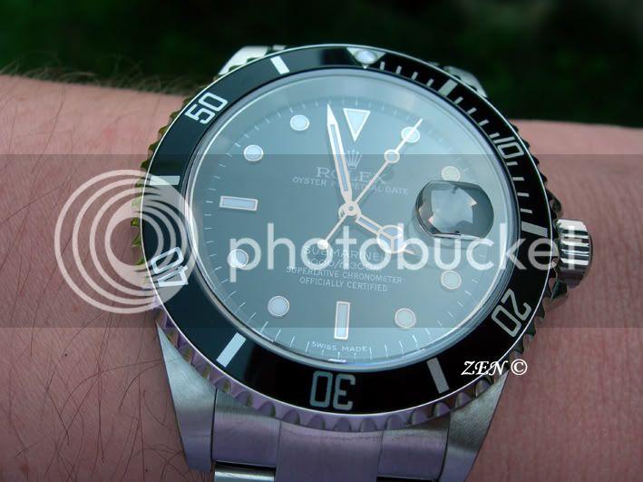 Quelles sont pour vous les plus belles montres de plongée ? RolexSubmariner166102-1