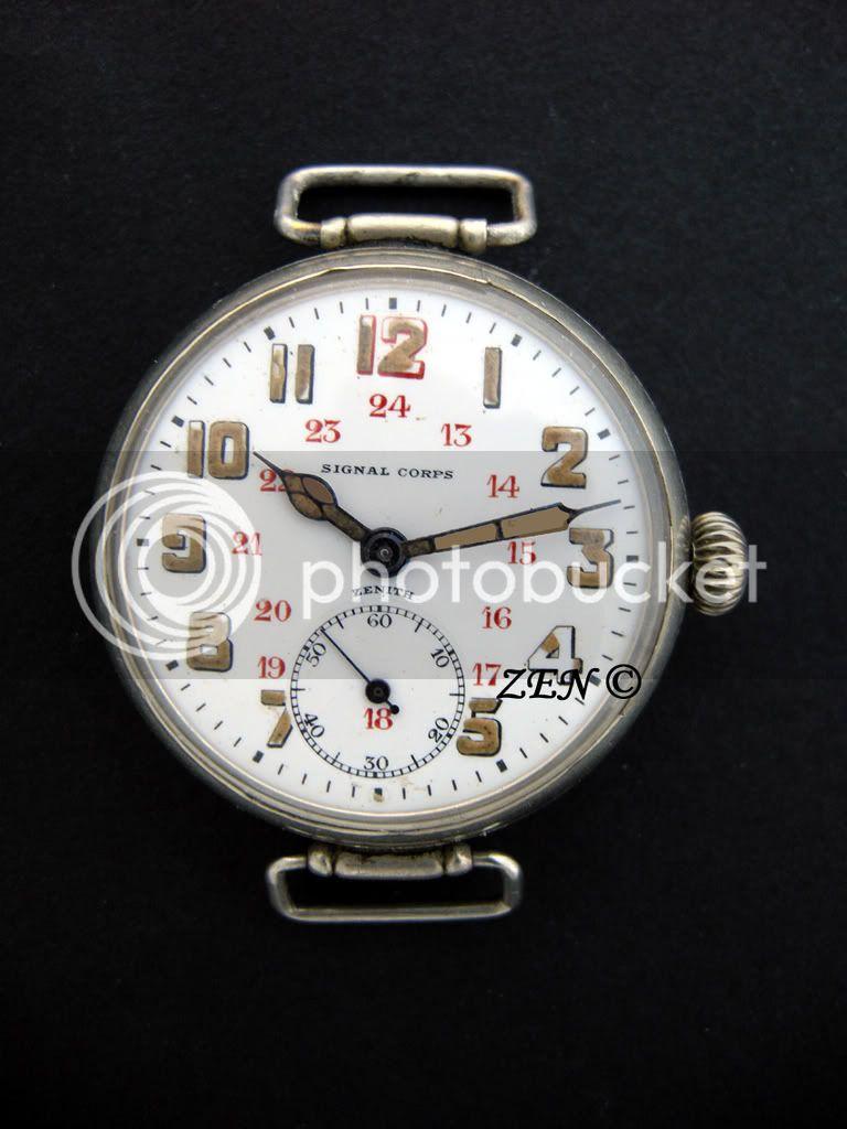 Longines Istituto Idrografico Marina : J'ai décidé de craquer sur cette montre - Page 3 SignalCorps1918cadrancopie