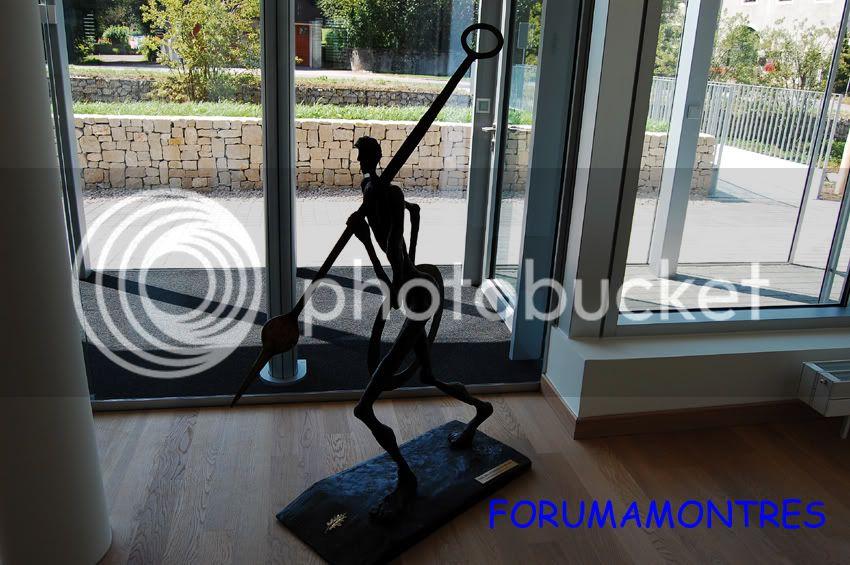 Avant première FAM  : Visite de la nouvelle manufacture Audemars Piguet Statuettecopie