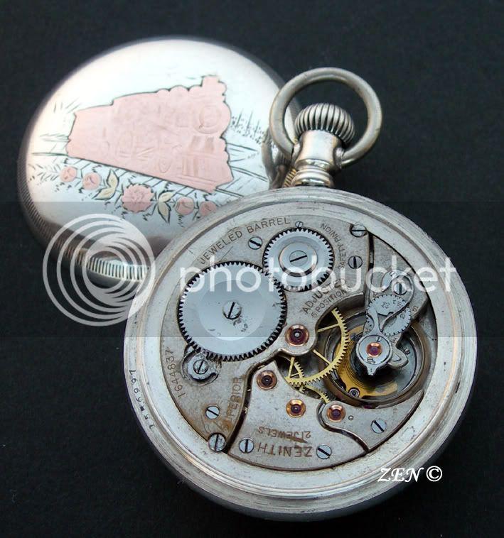 ZENITH dans l'histoire horlogère Superiorargent20lignesetdemicalubre