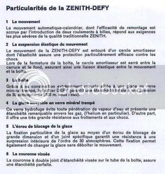"La ""vraie"" histoire des ZENITH DEFY ZENITHDEFYPLONGEURSbouloncommentair"