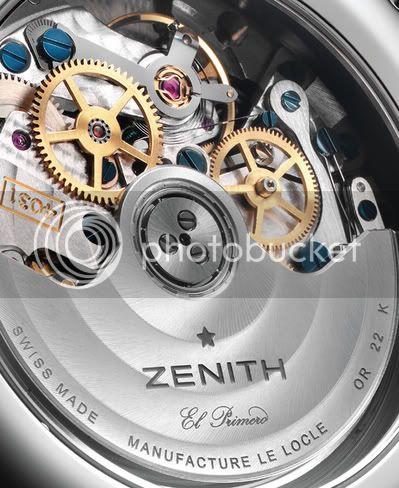 Zenith Class El Primero : mal aimée ? ZENITHRptitioncalibre