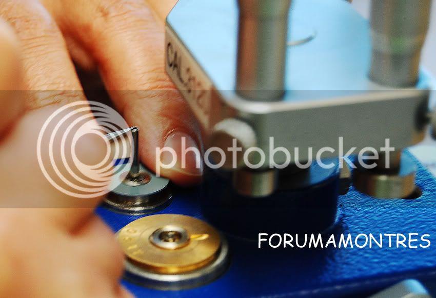 Avant première FAM  : Visite de la nouvelle manufacture Audemars Piguet Barilletposeressort