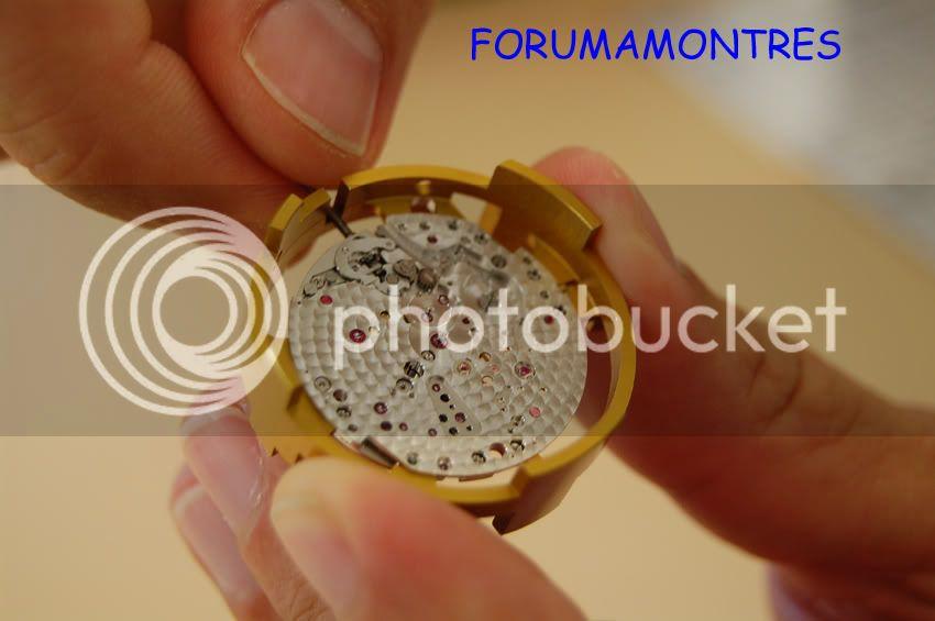 Avant première FAM  : Visite de la nouvelle manufacture Audemars Piguet Calibre3120cotplatineavant