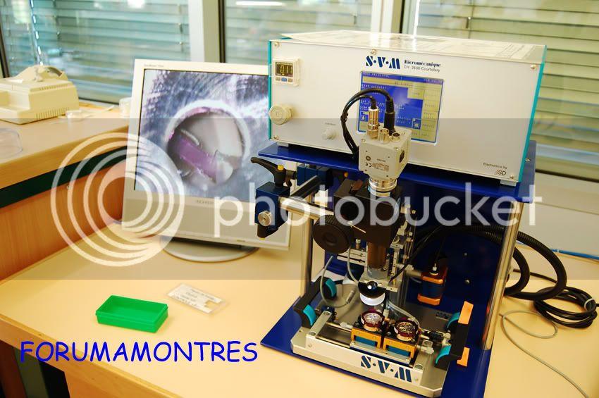 Avant première FAM  : Visite de la nouvelle manufacture Audemars Piguet Controle