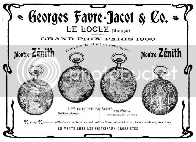 L'exposition universelle de 1900 et l'horlogerie PubZenith1902bis