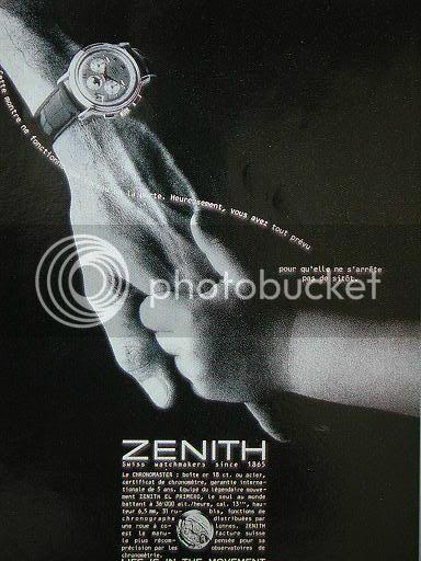 Le thème de la transmission de génération en génération est à Zenith Pub_zenith_09