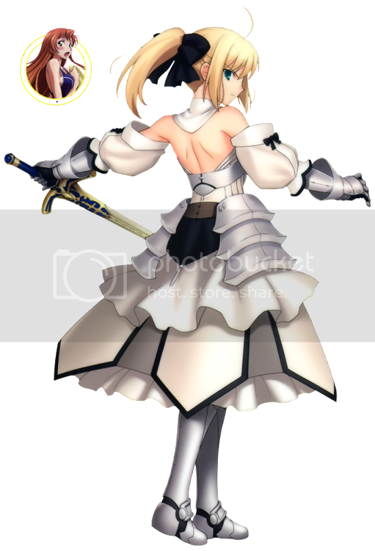 [fate unlimited codes] saber lily Saberlillyback