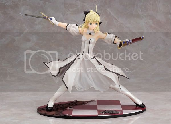[fate unlimited codes] saber lily Saberlillywithoutarmour