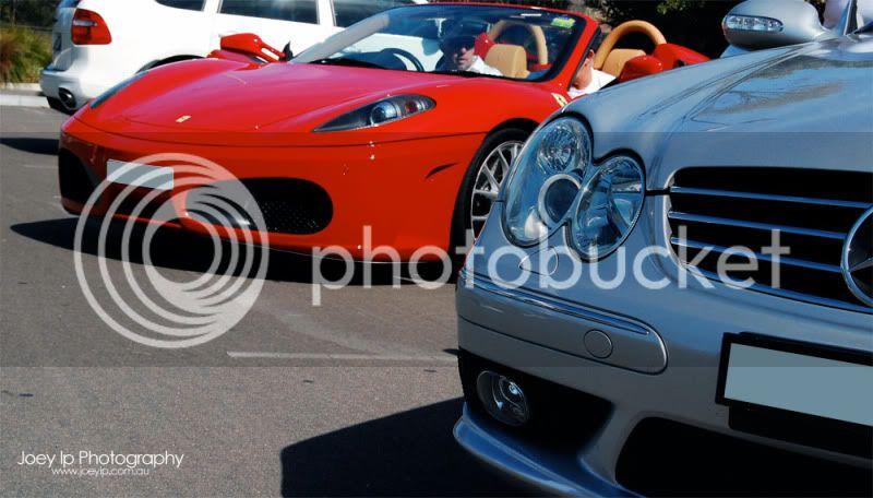 Exotic Sport Cars Company Drive Day! Ferrari_Mercedes