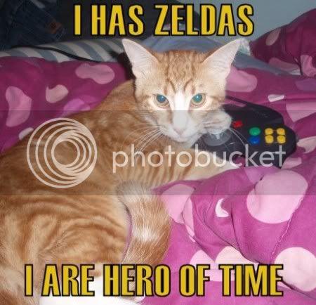 ITS CATURDAY!!!!! POST CATS!!! Zelda