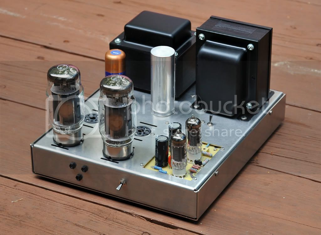 Prototype 125 watt monoblock tube amplifier KIT - Page 2