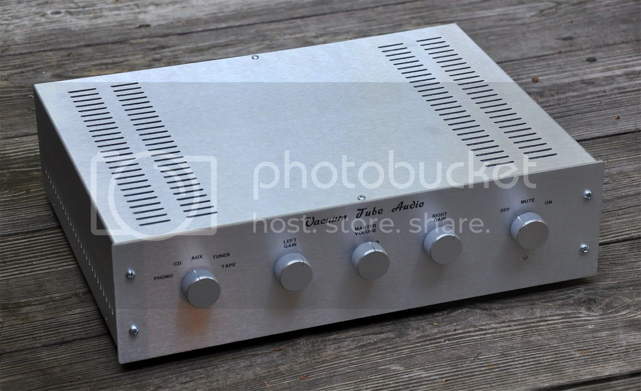 REVIEW - Tubes4hifi SP-8SE tube preamp KIT SP-8SEfront
