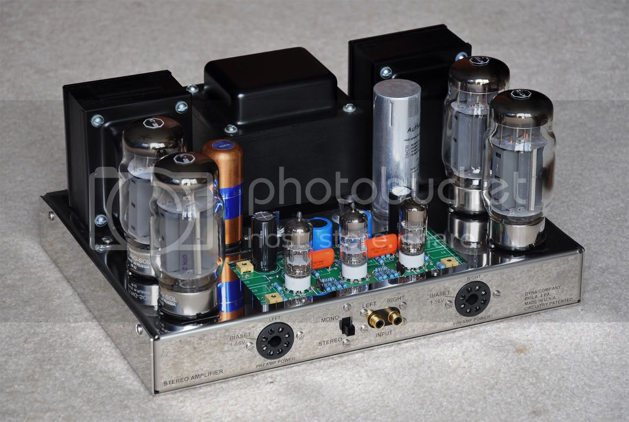 New Tungsol KT120 output tube for Dynaco amps - first impressions on 4/16/10 ST-120withKT120