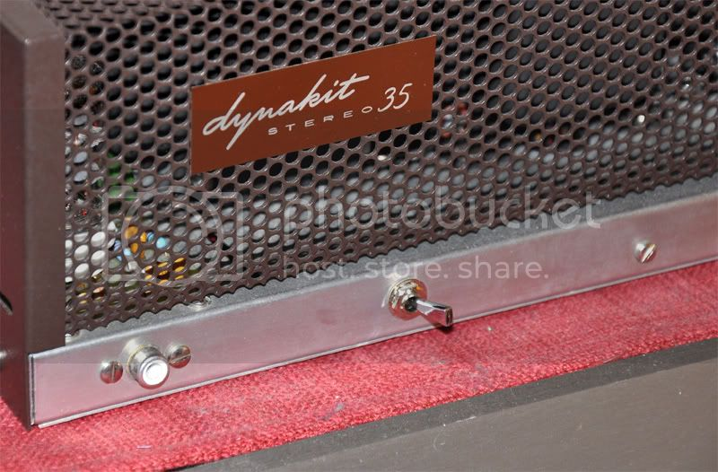 Rebuild your Dynaco ST-35 power amp - photos .. ST-35powerswitch