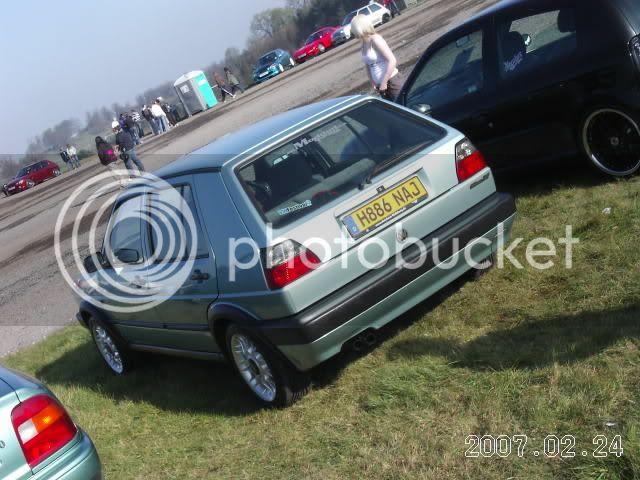 mk2 golf - banded steelies update Donny07009