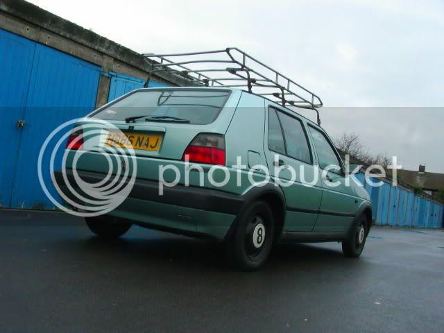 mk2 roof racks + jetta slam panel Wheels015