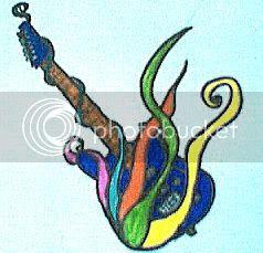 Mes dessins Guitar