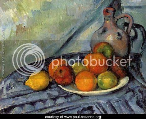 Fruta y jugo en una mesa. Paul Cézanne Fruit-And-Jug-On-A-Table_zps2c3c4ffc
