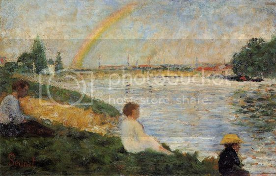 PUNTILLISMO. TÉCNICA PICTÓRICA Georges-Seurat-Bathing-at-Asnieres-Rainbow-Oil-Painting_zpsae8a118e