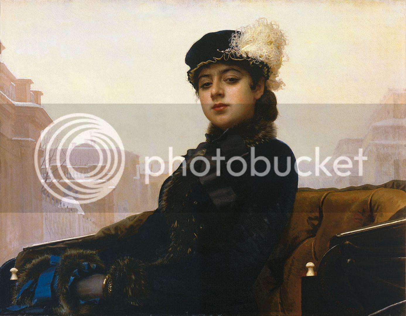 RETRATO DE UNA DESCONOCIDA DE IVÁN KRASKOI Kramskoy_Portrait_of_a_Woman_zps0119613c