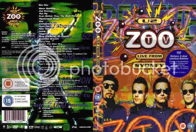 ZooTv Tur U2-ZooTvLiveFromSydney1993II