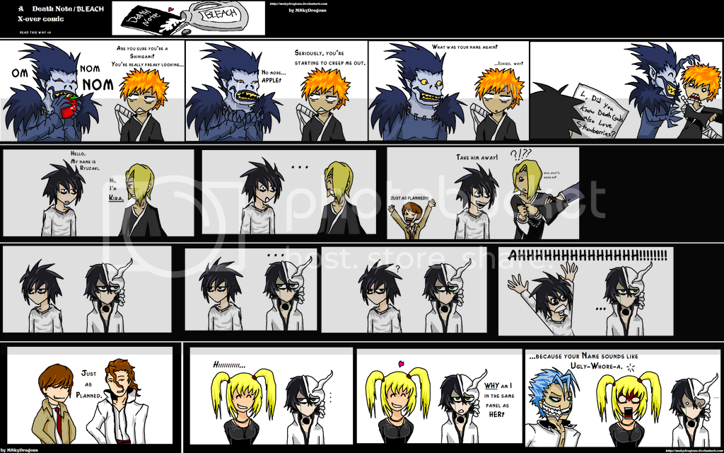 Imagenes graciosas Death_Note___Bleach_CrackComic_by_M