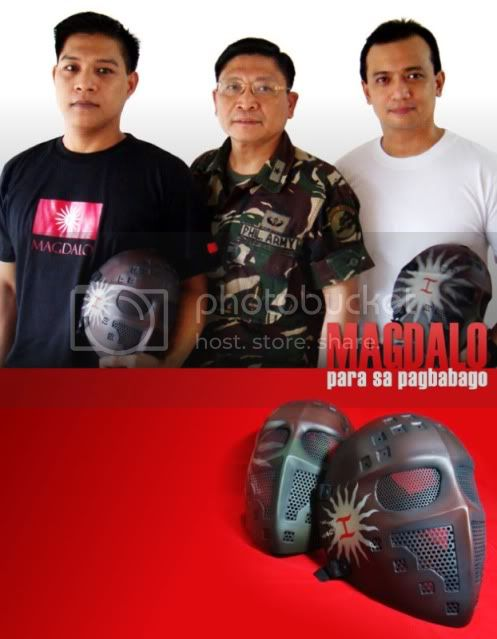 Official AX Patriot Mask Magdalowithtakaplupa