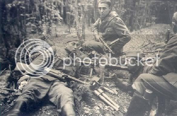 Especial Segunda Guerra Mundial. Imagenes Ineditas Mp-34-a