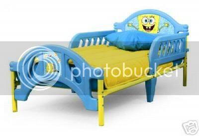 Spongebob Bed