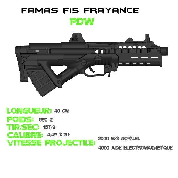 The FAMAS (Pictures & Info) Famasf15
