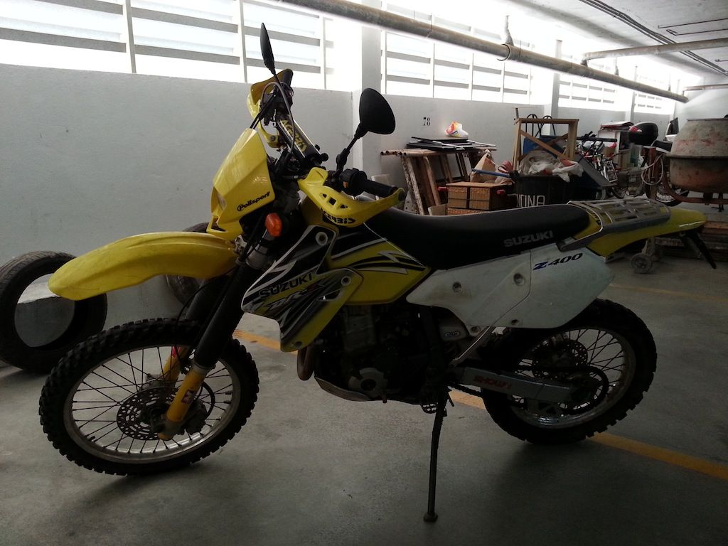 DRZ 400 S. 1700 € 20130707_182142