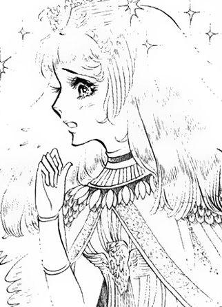 Hình ảnh Carol trắng đen trong bộ truyện Cô gái Sông Nile ( Ouke Monshou ) 尼罗河的女儿; 尼羅河女兒; 王家の紋章; คําสาปฟาโรห์; 왕가의 문장 - Page 2 1dot119_zpsb8344c58