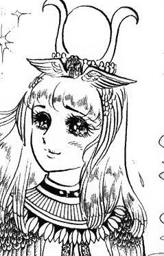 Hình ảnh Carol trắng đen trong bộ truyện Cô gái Sông Nile ( Ouke Monshou ) 尼罗河的女儿; 尼羅河女兒; 王家の紋章; คําสาปฟาโรห์; 왕가의 문장 - Page 2 1dot127_zpsf827ccc1