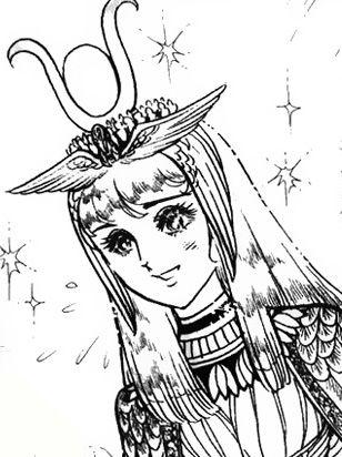 Hình ảnh Carol trắng đen trong bộ truyện Cô gái Sông Nile ( Ouke Monshou ) 尼罗河的女儿; 尼羅河女兒; 王家の紋章; คําสาปฟาโรห์; 왕가의 문장 - Page 2 1dot130_zps3bf93e7c