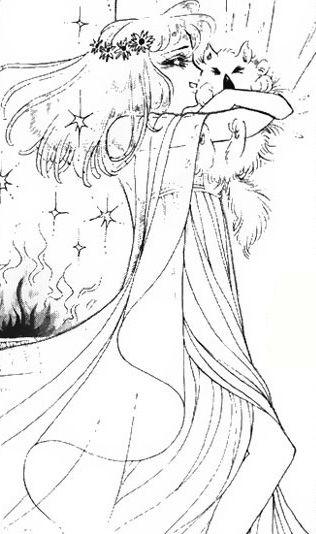 Hình ảnh Carol trắng đen trong bộ truyện Cô gái Sông Nile ( Ouke Monshou ) 尼罗河的女儿; 尼羅河女兒; 王家の紋章; คําสาปฟาโรห์; 왕가의 문장 - Page 2 1dot137_zpsb3419aac