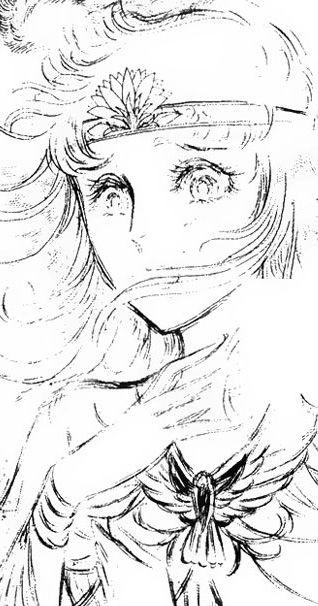 Hình ảnh Carol trắng đen trong bộ truyện Cô gái Sông Nile ( Ouke Monshou ) 尼罗河的女儿; 尼羅河女兒; 王家の紋章; คําสาปฟาโรห์; 왕가의 문장 1dot15_zps0c7c6b0e