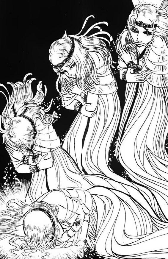 Hình ảnh Carol trắng đen trong bộ truyện Cô gái Sông Nile ( Ouke Monshou ) 尼罗河的女儿; 尼羅河女兒; 王家の紋章; คําสาปฟาโรห์; 왕가의 문장 - Page 2 1dot160_zpsc6c5ef30