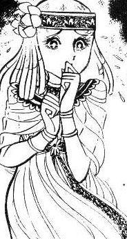 Hình ảnh Carol trắng đen trong bộ truyện Cô gái Sông Nile ( Ouke Monshou ) 尼罗河的女儿; 尼羅河女兒; 王家の紋章; คําสาปฟาโรห์; 왕가의 문장 - Page 2 1dot194_zps536a07d9