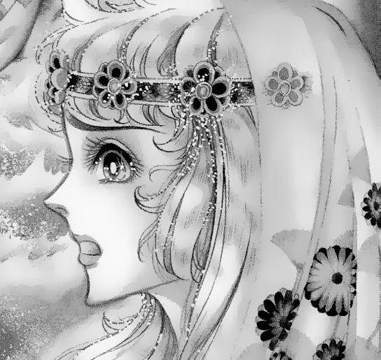 Hình ảnh Carol trắng đen trong bộ truyện Cô gái Sông Nile ( Ouke Monshou ) 尼罗河的女儿; 尼羅河女兒; 王家の紋章; คําสาปฟาโรห์; 왕가의 문장 1dot19_zps537ab104