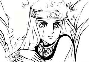 Hình ảnh Carol trắng đen trong bộ truyện Cô gái Sông Nile ( Ouke Monshou ) 尼罗河的女儿; 尼羅河女兒; 王家の紋章; คําสาปฟาโรห์; 왕가의 문장 - Page 5 1dot204_zpsbdcf0529