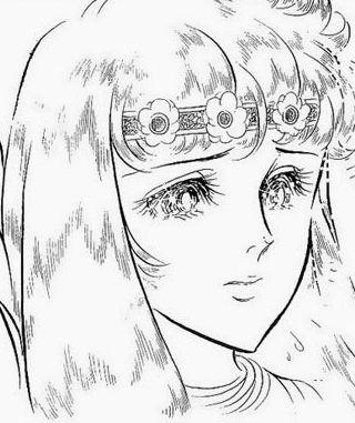 Hình ảnh Carol trắng đen trong bộ truyện Cô gái Sông Nile ( Ouke Monshou ) 尼罗河的女儿; 尼羅河女兒; 王家の紋章; คําสาปฟาโรห์; 왕가의 문장 1dot21_zpsa4f4acb8