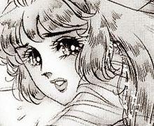 Hình ảnh Carol trắng đen trong bộ truyện Cô gái Sông Nile ( Ouke Monshou ) 尼罗河的女儿; 尼羅河女兒; 王家の紋章; คําสาปฟาโรห์; 왕가의 문장 1dot28_zps48cc48e8