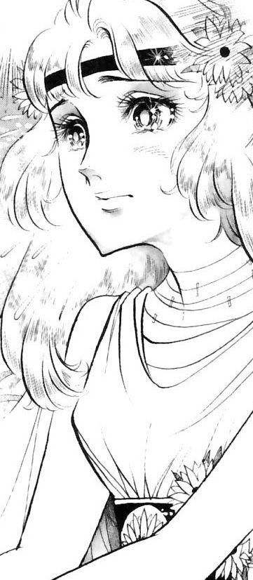 Hình ảnh Carol trắng đen trong bộ truyện Cô gái Sông Nile ( Ouke Monshou ) 尼罗河的女儿; 尼羅河女兒; 王家の紋章; คําสาปฟาโรห์; 왕가의 문장 1dot78_zps8fc8801d
