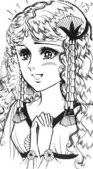 Hình ảnh Carol trắng đen trong bộ truyện Cô gái Sông Nile ( Ouke Monshou ) 尼罗河的女儿; 尼羅河女兒; 王家の紋章; คําสาปฟาโรห์; 왕가의 문장 - Page 3 2dot15_zps8gy7mofs