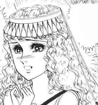 Hình ảnh Carol trắng đen trong bộ truyện Cô gái Sông Nile ( Ouke Monshou ) 尼罗河的女儿; 尼羅河女兒; 王家の紋章; คําสาปฟาโรห์; 왕가의 문장 - Page 3 2dot26_zps13b48338