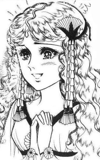 Hình ảnh Carol trắng đen trong bộ truyện Cô gái Sông Nile ( Ouke Monshou ) 尼罗河的女儿; 尼羅河女兒; 王家の紋章; คําสาปฟาโรห์; 왕가의 문장 - Page 3 2dot78_zps394ab819