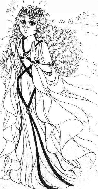 Hình ảnh Carol trắng đen trong bộ truyện Cô gái Sông Nile ( Ouke Monshou ) 尼罗河的女儿; 尼羅河女兒; 王家の紋章; คําสาปฟาโรห์; 왕가의 문장 - Page 3 2dot86_zps589b25d2