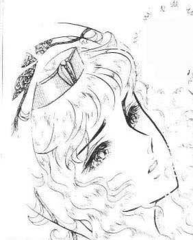 Hình ảnh Carol trắng đen trong bộ truyện Cô gái Sông Nile ( Ouke Monshou ) 尼罗河的女儿; 尼羅河女兒; 王家の紋章; คําสาปฟาโรห์; 왕가의 문장 - Page 5 Q36_zps5fd77058